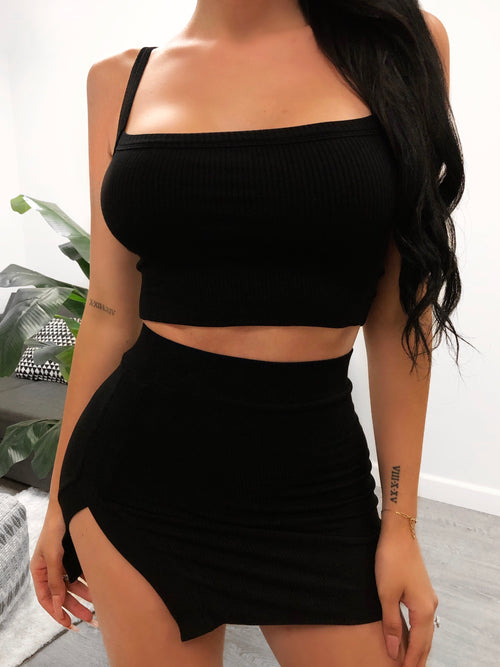Chrissy 2 Piece (black)