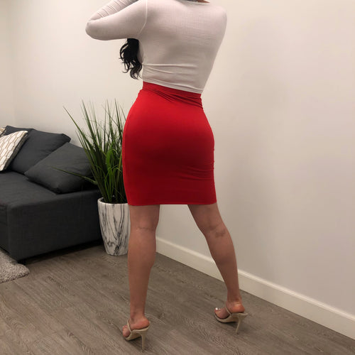 Miami Skirt (red)