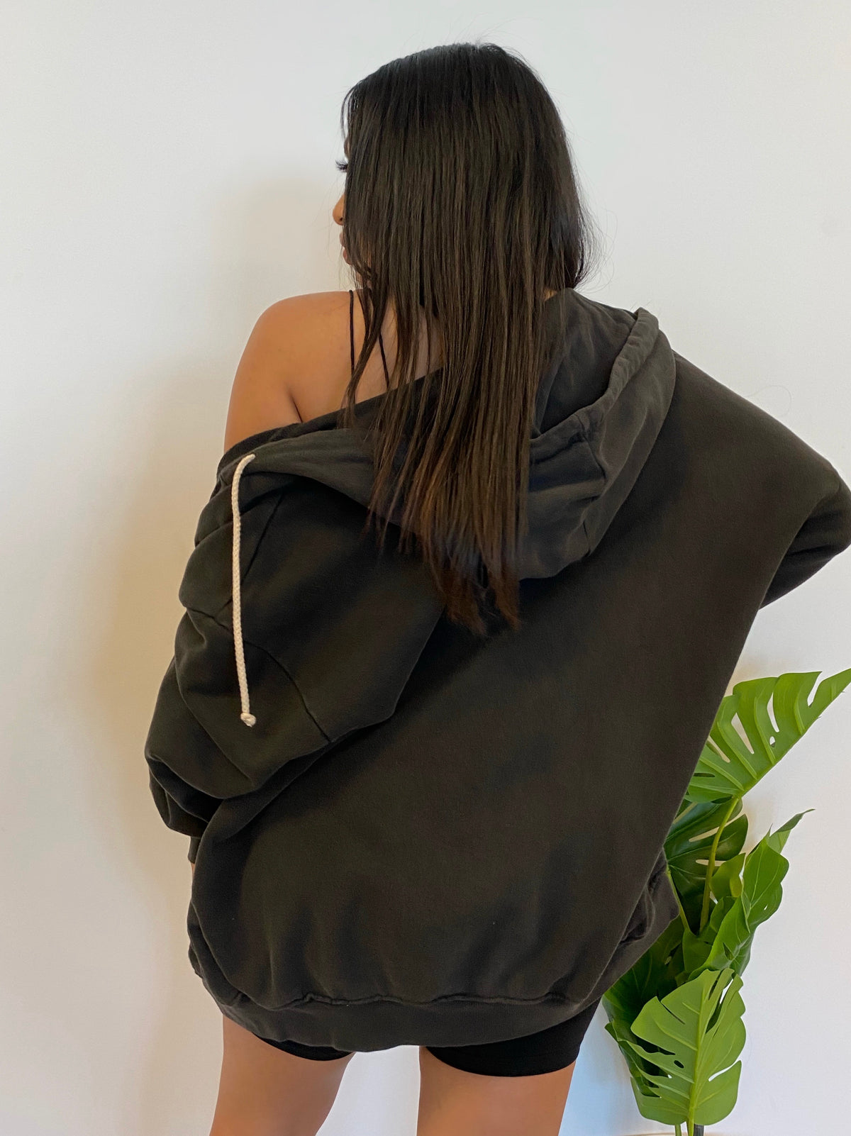 Willow Oversize Hoodie (Charcoal)