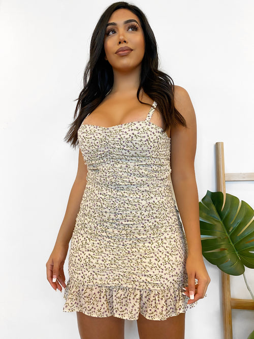 Itzel Dress(Ivory)