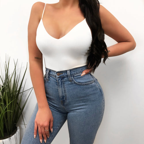 Angelina Bodysuit (white)