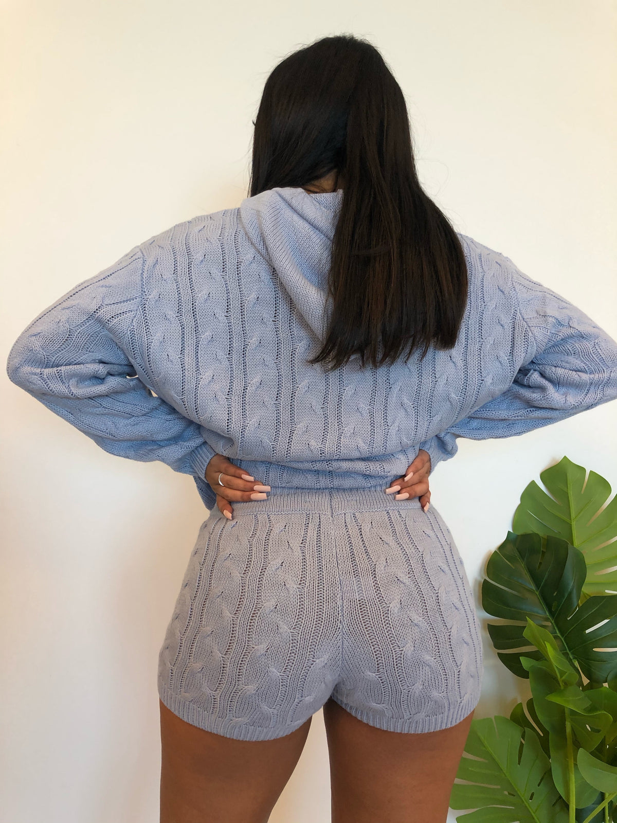 Ileana 2 Piece (Dusty Blue)