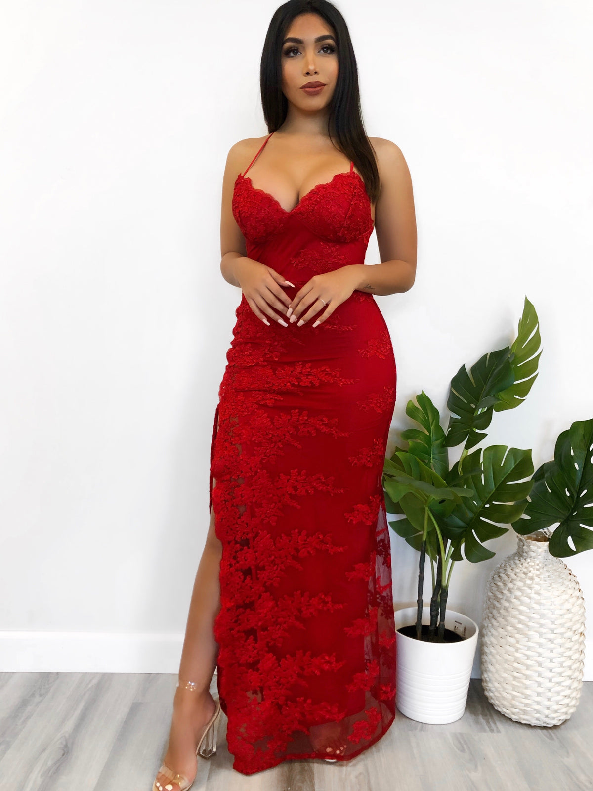Anastasia Dress (Red)
