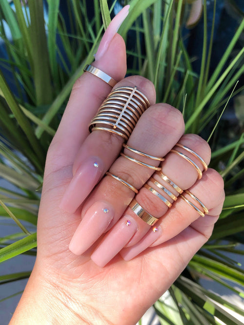 Wely Ring Set (gold)