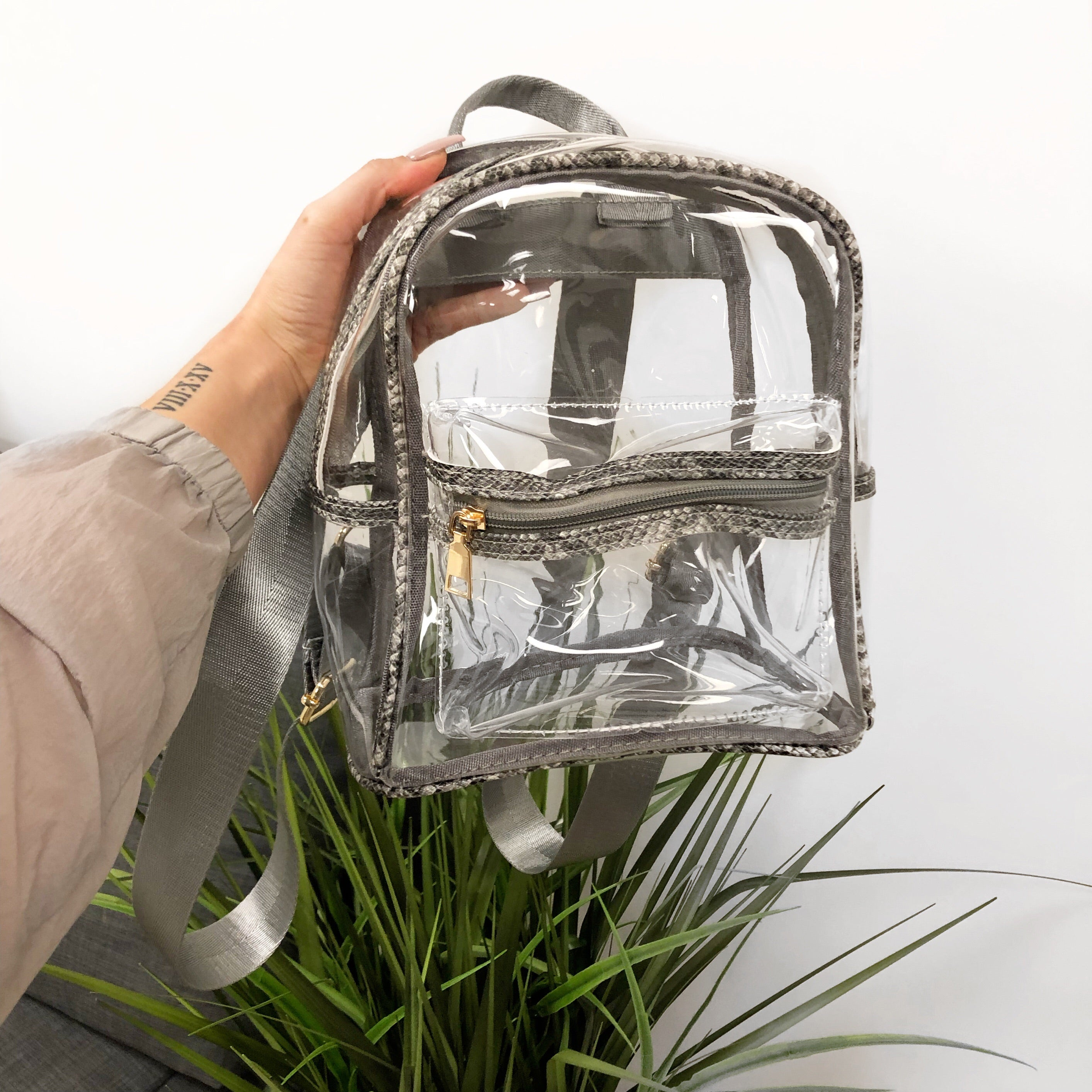 Madison Clear Backpack