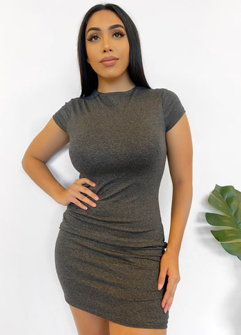 Mila Dress (taupe)