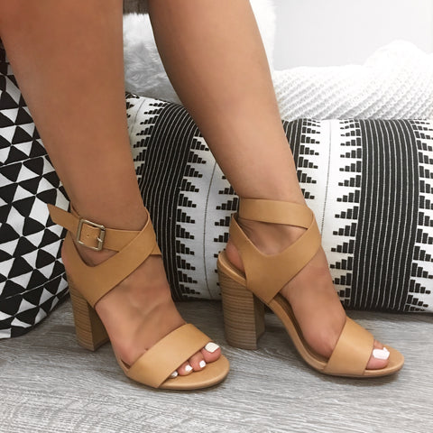 Bella Wedges (rust)