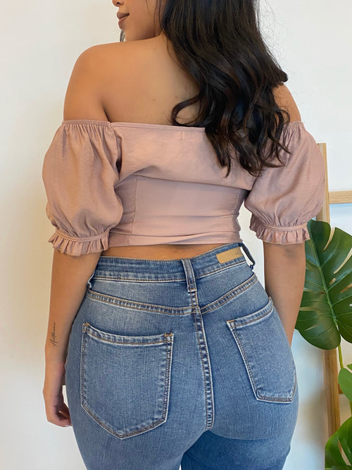 Angelica Top (Dusty Blush)