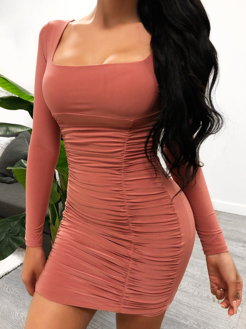 Tana Dress (Blush)