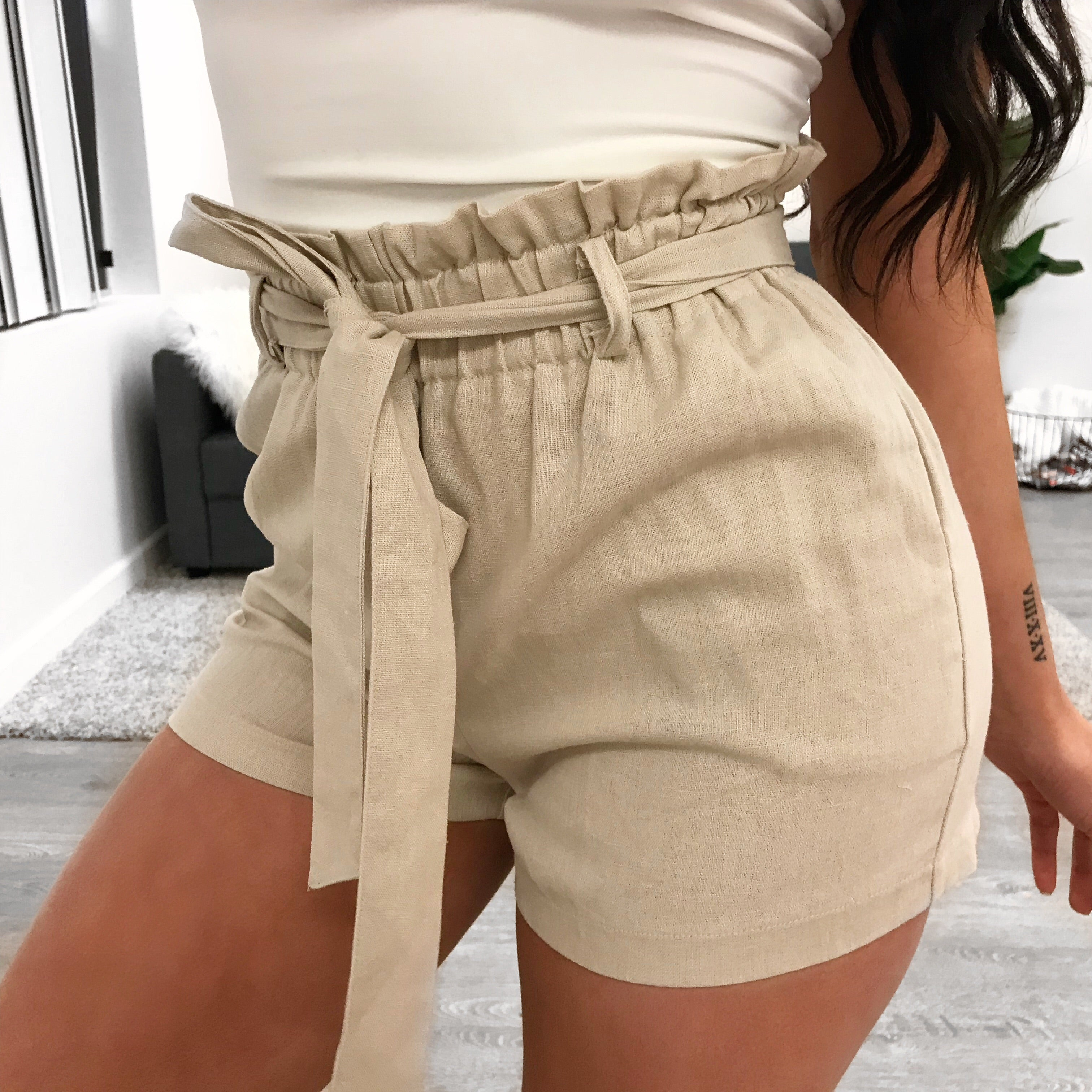 Nelly Shorts (taupe)