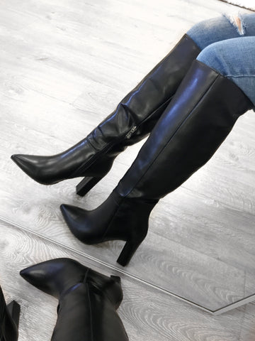 Sammy Commander Long Boots (black)