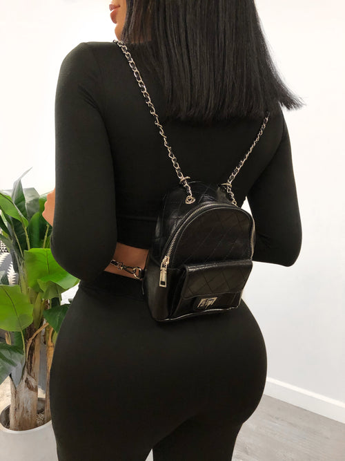 Dulce Mini BackPack (black)