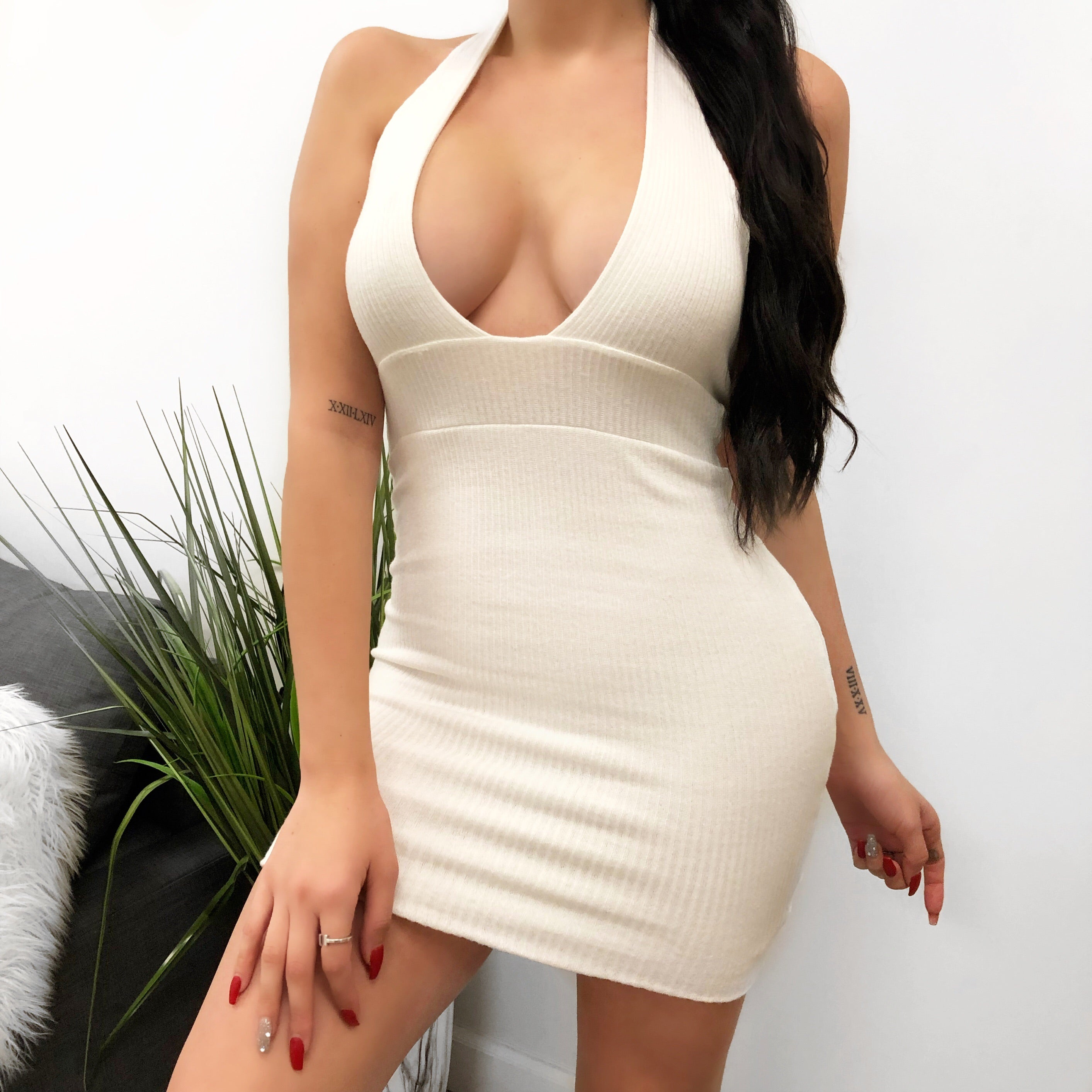 Desi Dress (white)