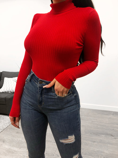Mayela Bodysuit (Red)