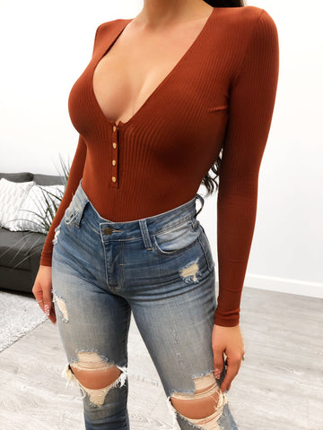 Cassidy Bodysuit (orange)