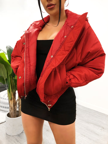 Kylee Jacket (Burgundy)