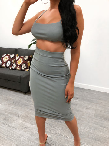 Carter 2 Piece (Taupe)