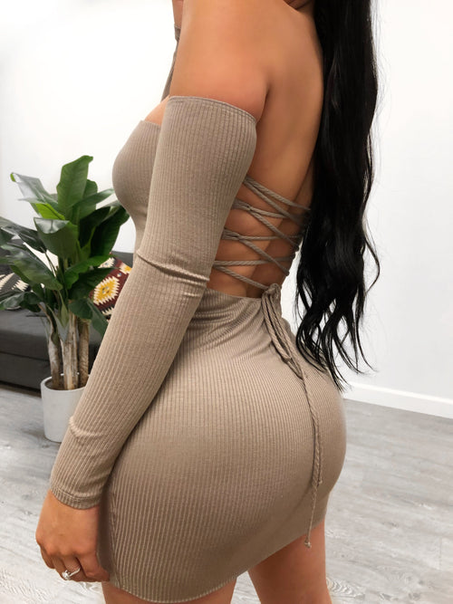 Sierra Dress (taupe)