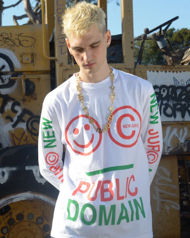 PUBLIC DOMAIN LONG SLEEVE TEE