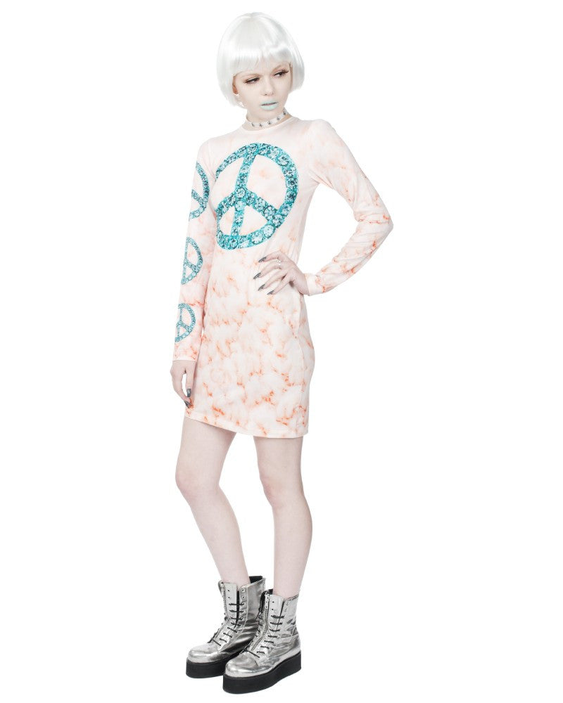 STREET PEACH DRESS - Eros Mortis
