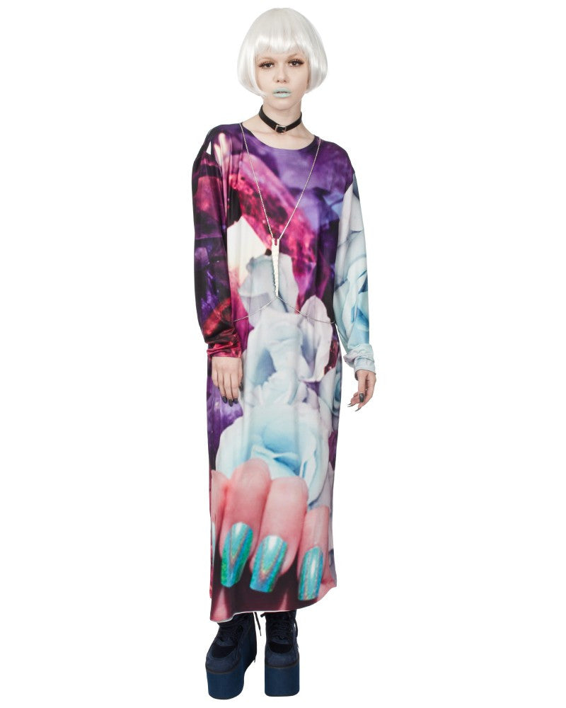 MINERALS ROSES MAXI DRESS - Eros Mortis