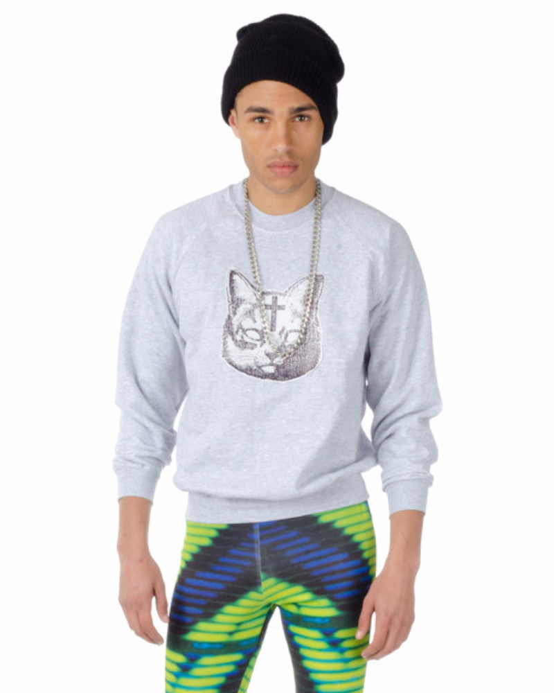 HOLY CAT UNISEX SWEAT SHIRT - Eros Mortis