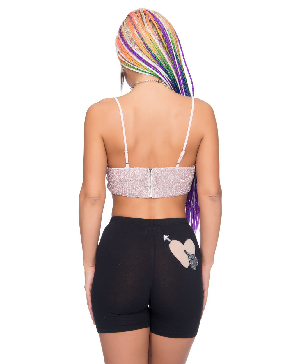 VIOLET DAWN CROP TOP - Eros Mortis