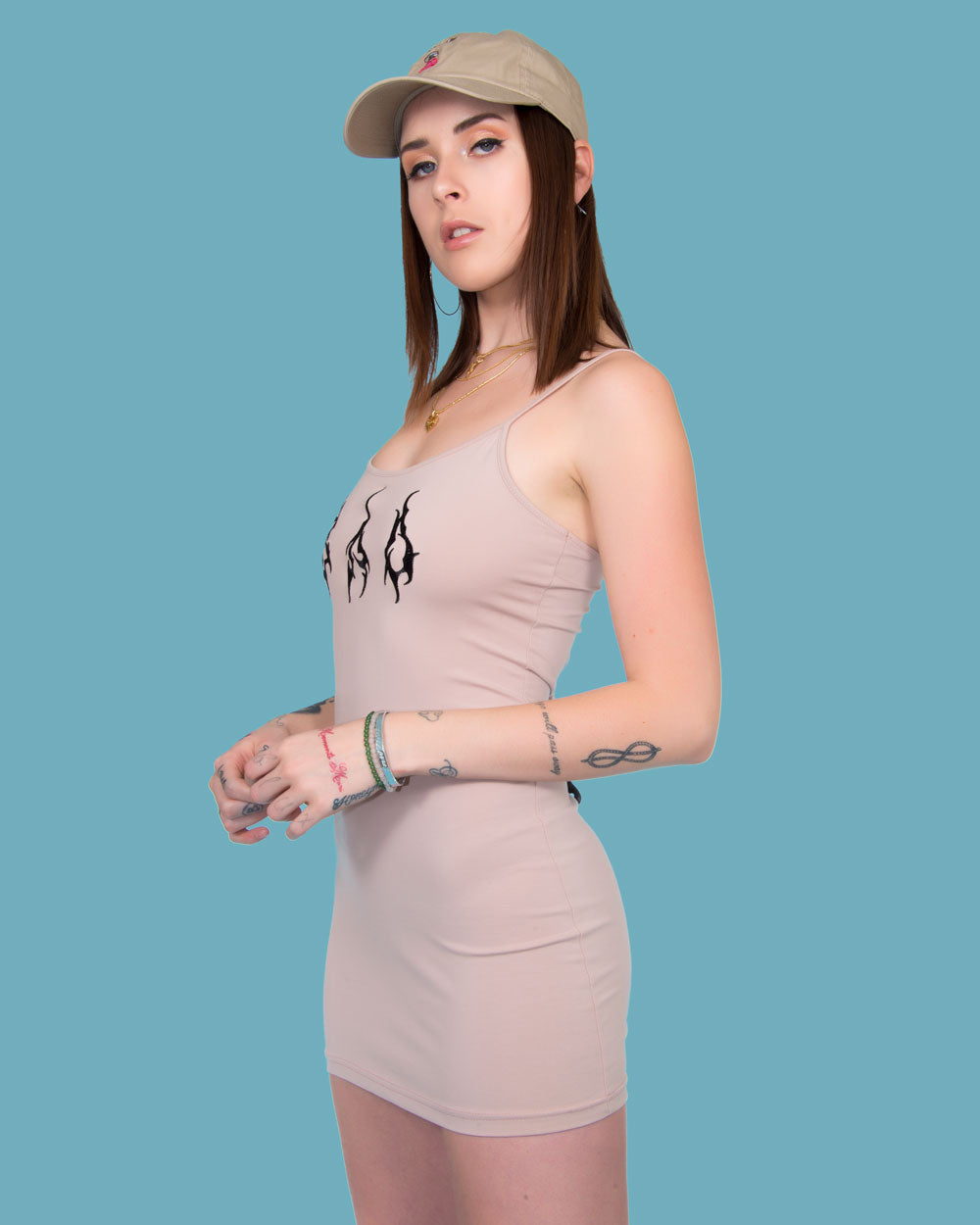 SAD DRESS BEIGE - Eros Mortis