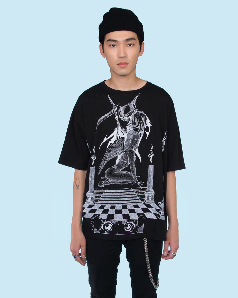 ANTI-VIRAL BY YENTA OVERSIZE TEE