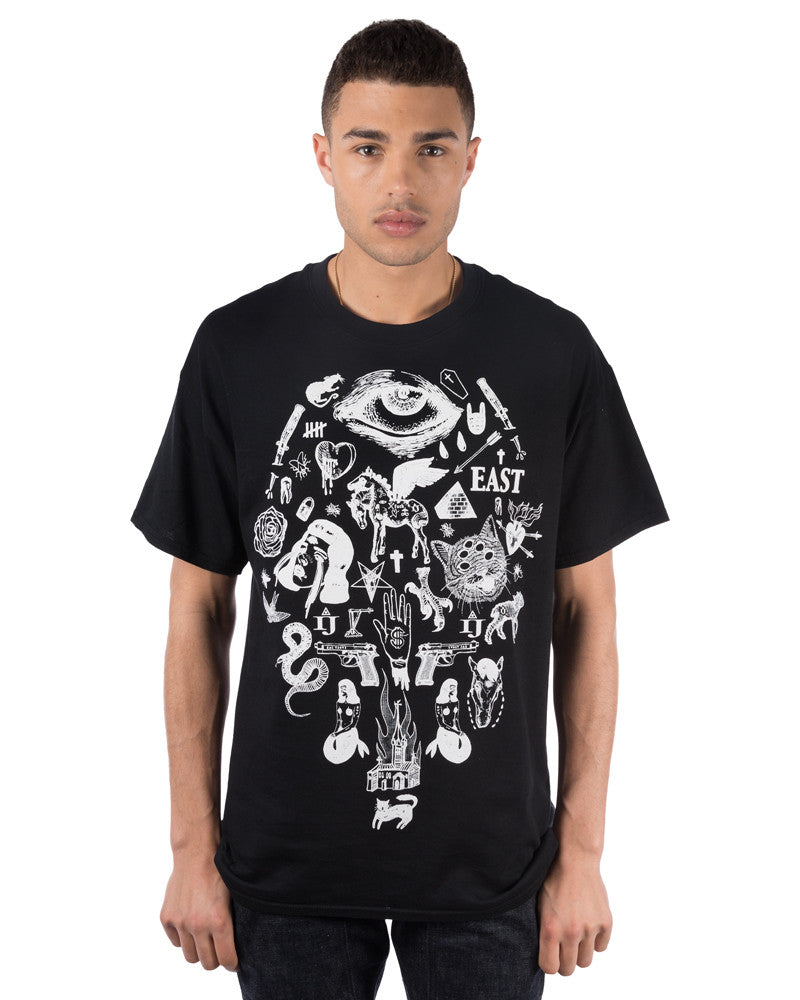 LIVE EAST DIE YOUNG T-SHIRT - Eros Mortis