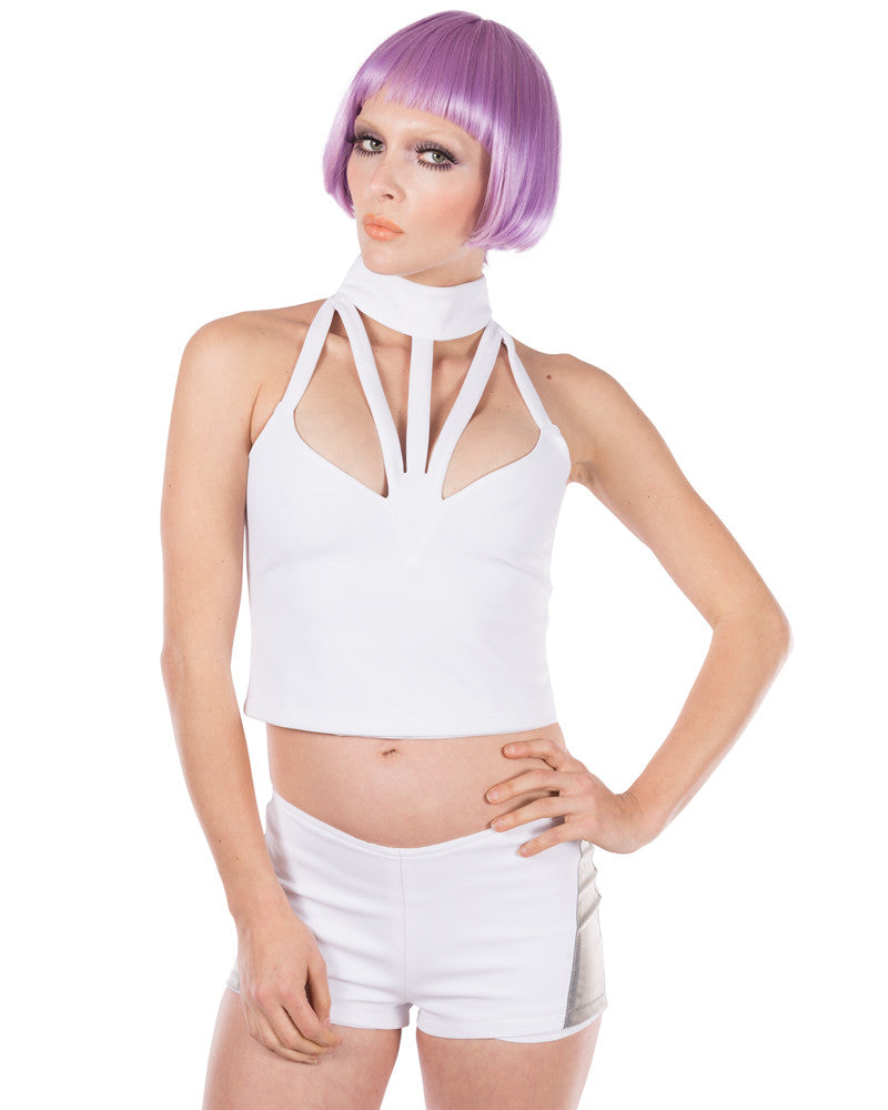 MKF DEEP V CROP TOP - Eros Mortis
