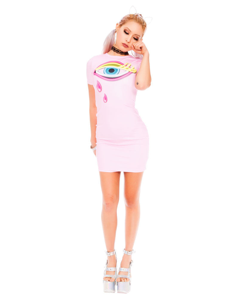 CRY BABY MINI DRESS - Eros Mortis