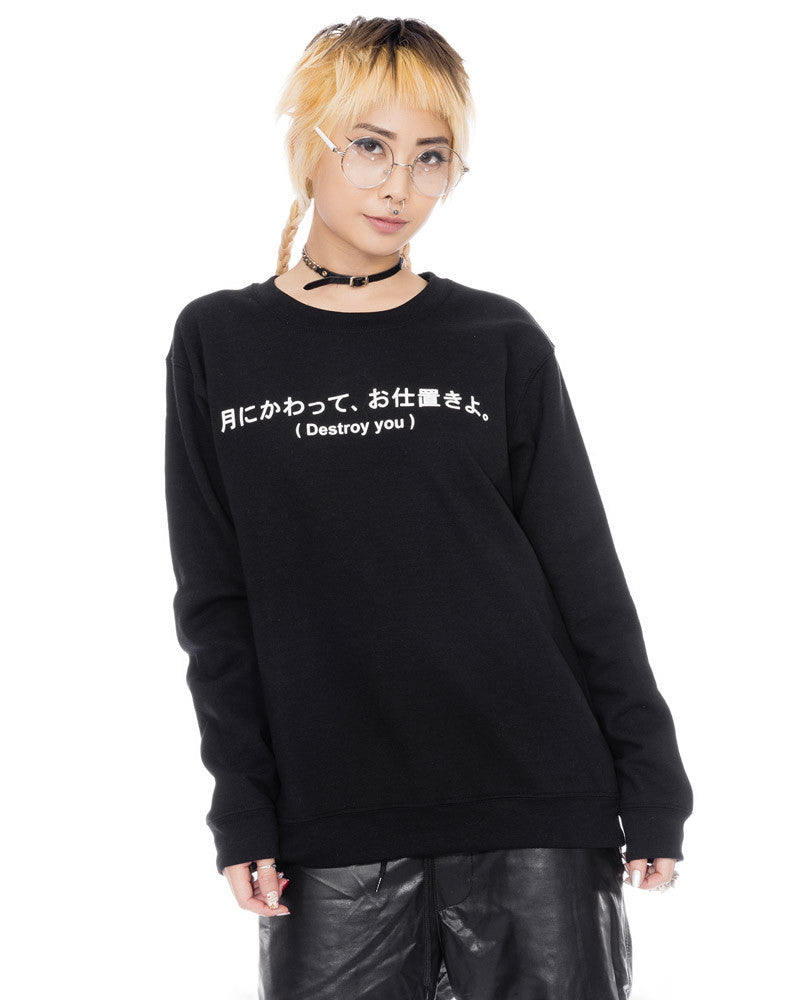 DESTROY YOU UNISEX SWEATSHIRT - Eros Mortis