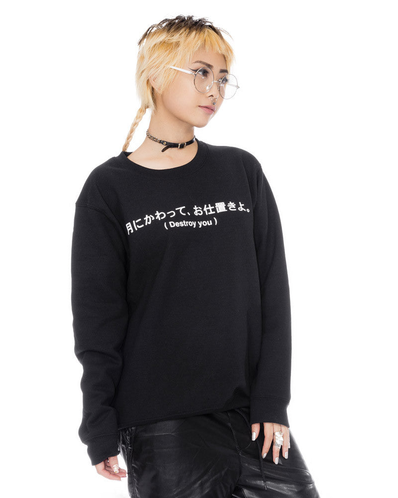 DESTROY YOU UNISEX SWEATSHIRT