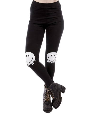 SMILEY KNEE LEGGINGS