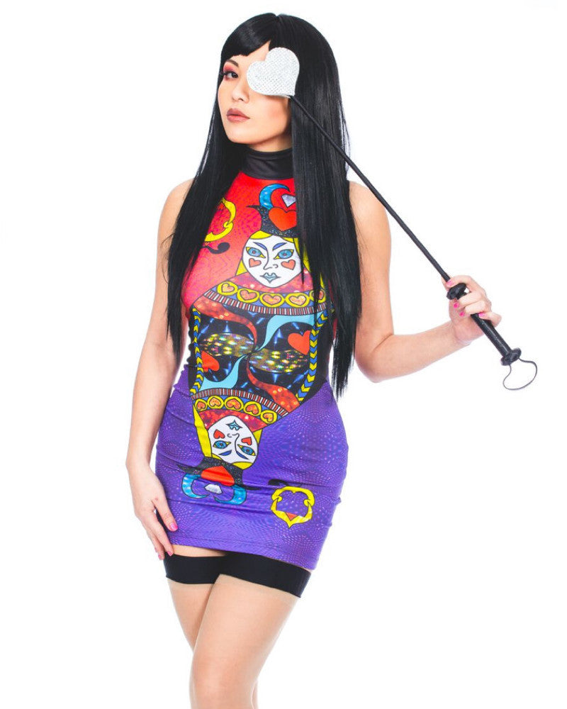 QUEEN OF YOUR HEART MINI DRESS - Eros Mortis