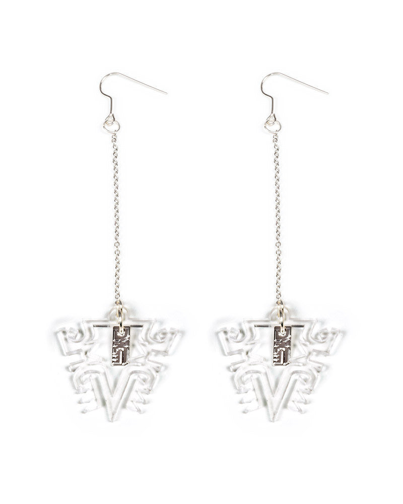 TRIBAL LONG EARRINGS - Eros Mortis