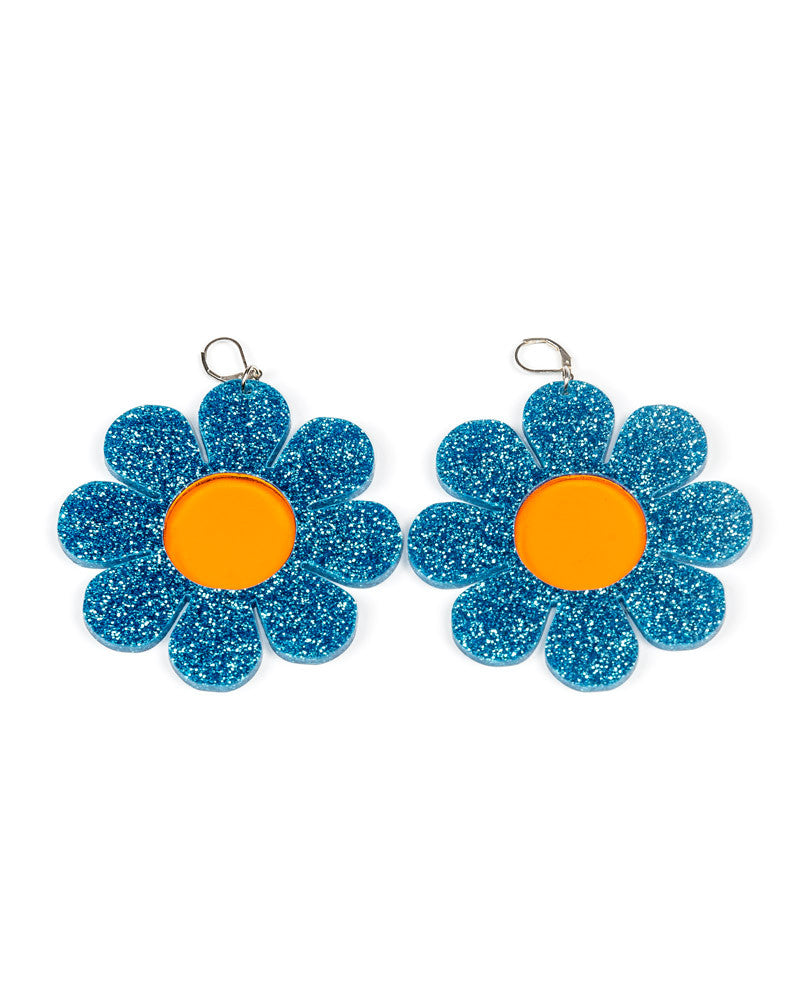 FLOWER POWER EARRINGS - Eros Mortis