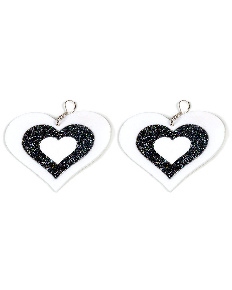 HEART BREAKER EARRINGS - Eros Mortis