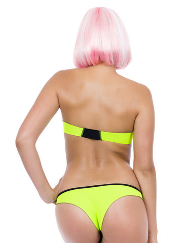 RAZOR CUT MESH SWIM SET