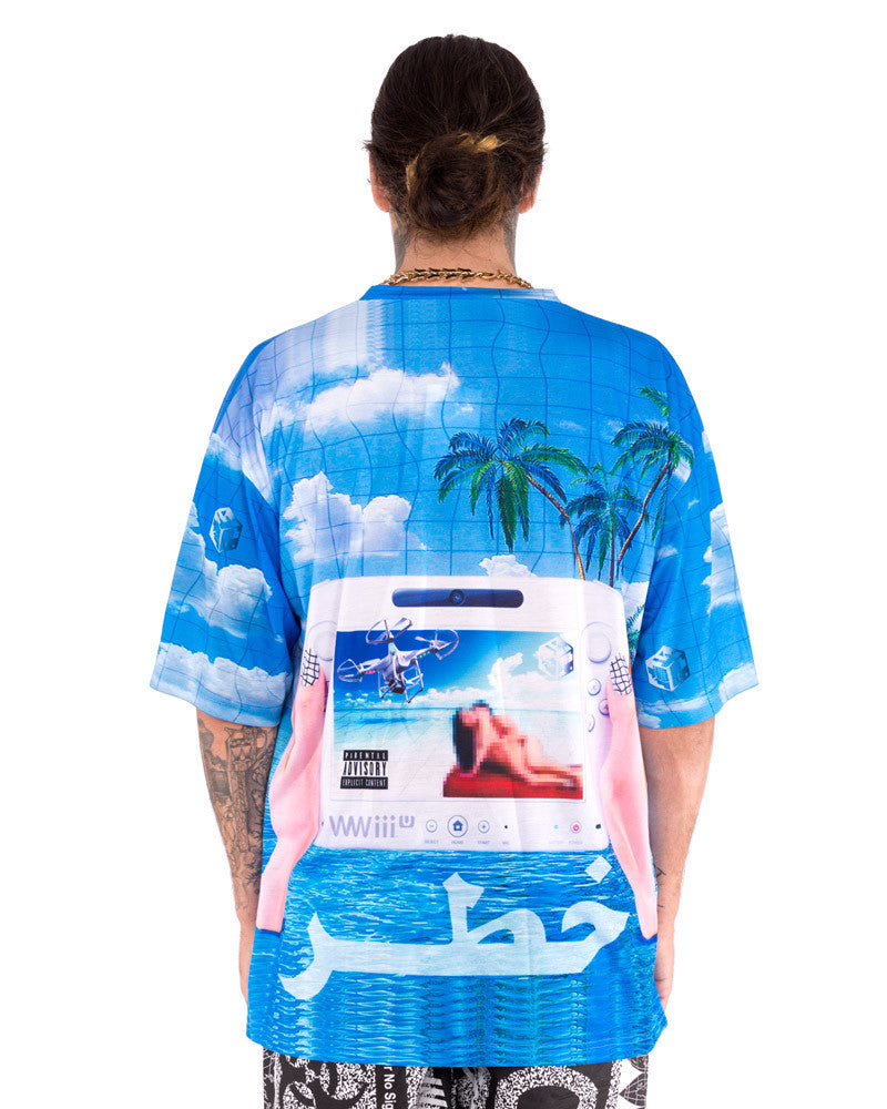 TROPICAL XD OVERSIZED TEE - Eros Mortis
