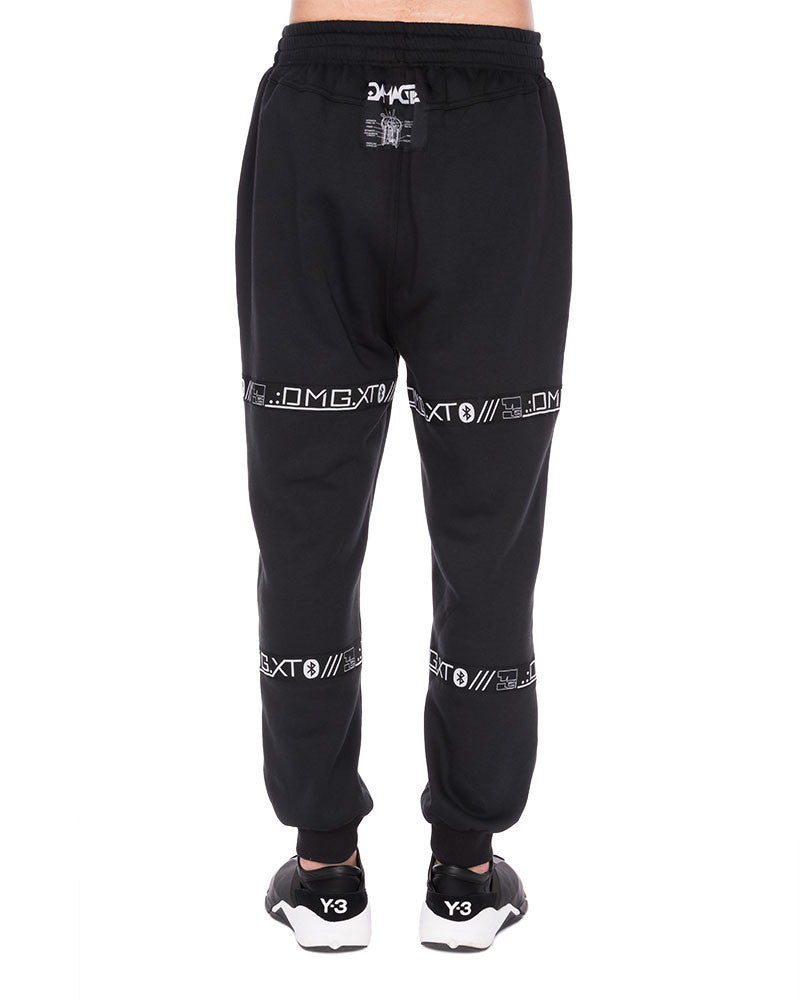BASIC STRAP SWEATPANTS - Eros Mortis