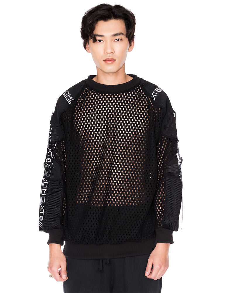 KY$ FISHNET BASIC UNISEX SWEATSHIRT