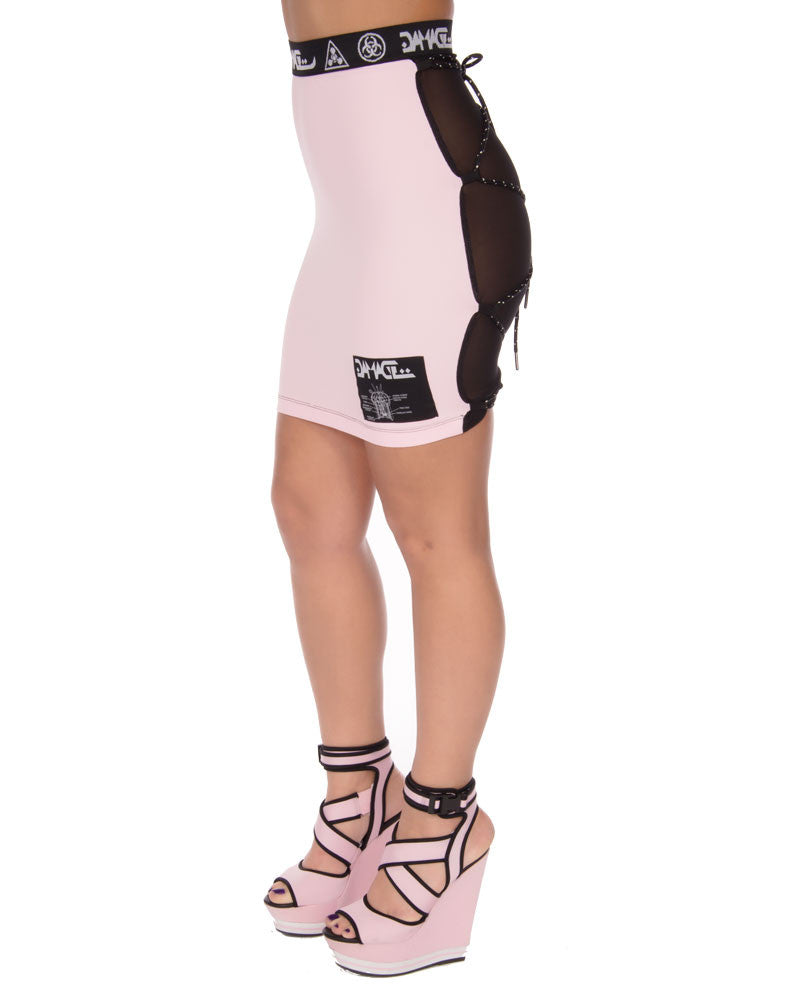 DMG BASIC PINK 2 WAY SKIRT