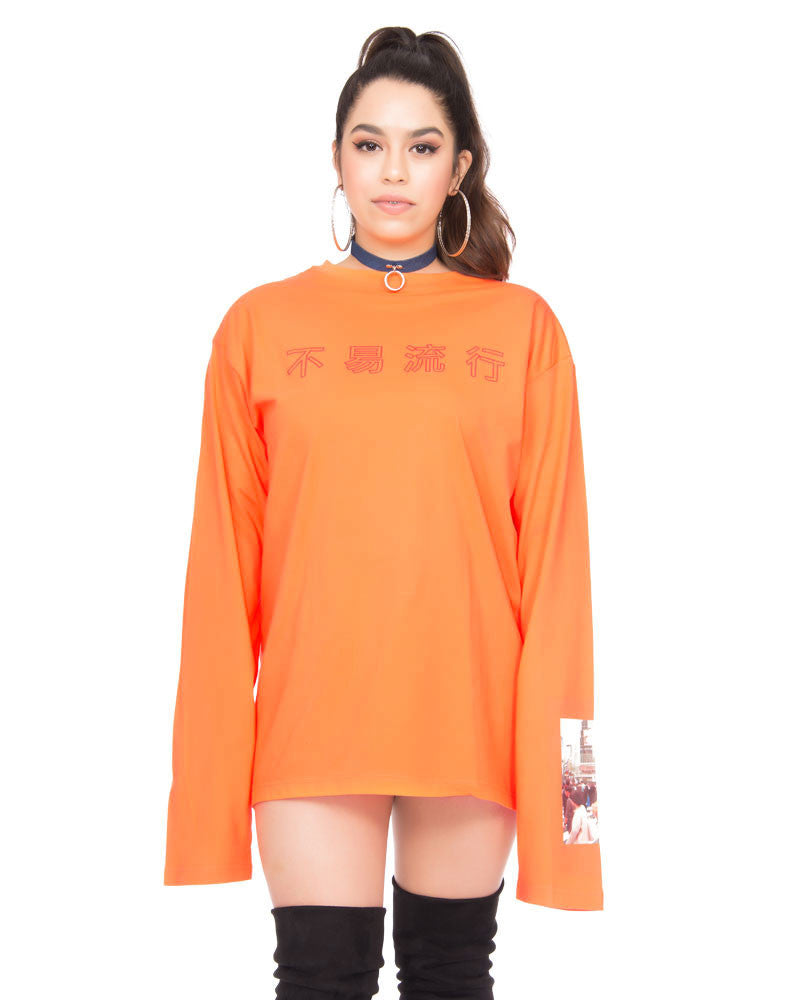 FASHION KILLA SHIBUYA LONG SLEEVE T-SHIRT
