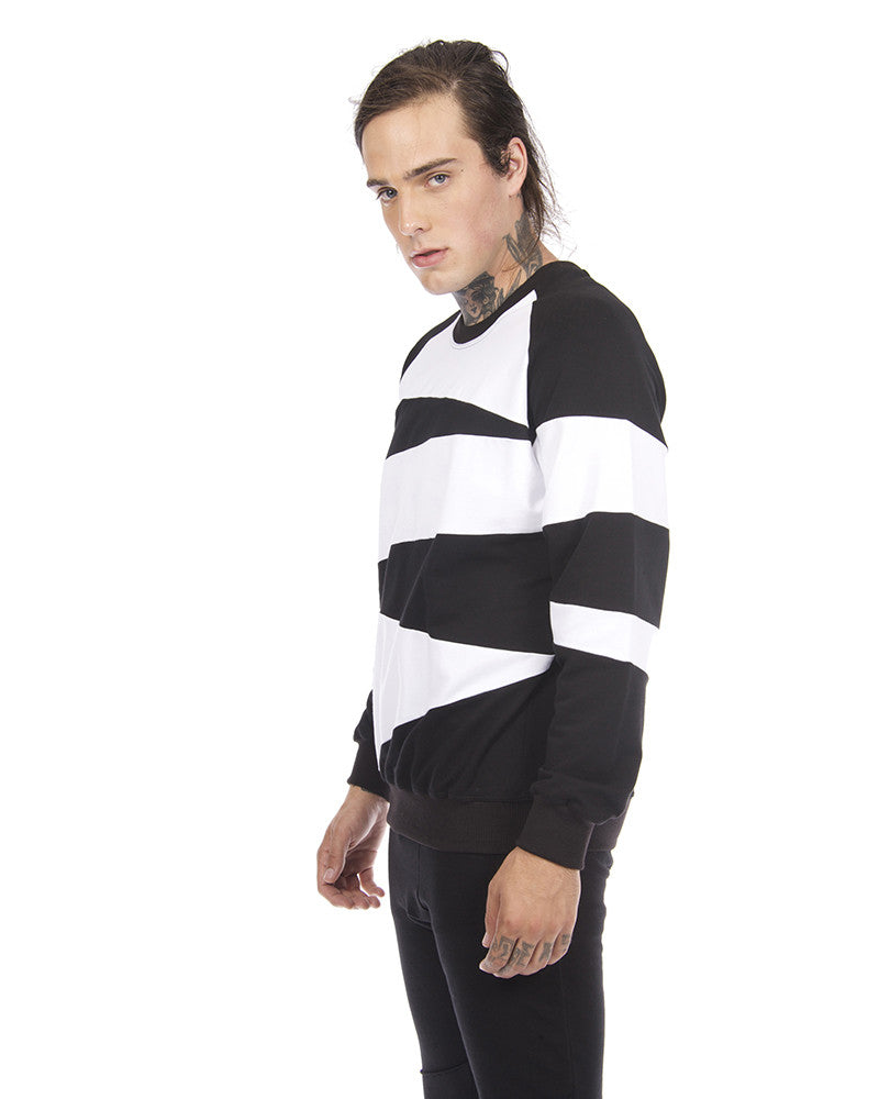 ZEBRA PATCHED UNISEX SWEATSHIRT