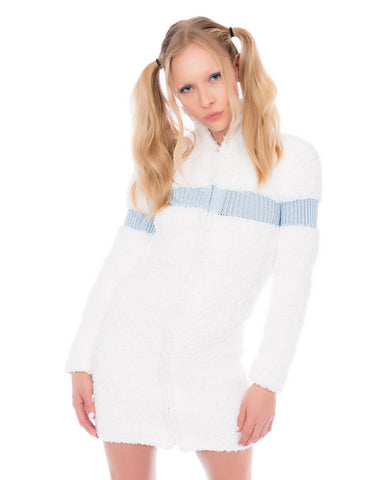 MkF FLUFFY KNIT DRESS