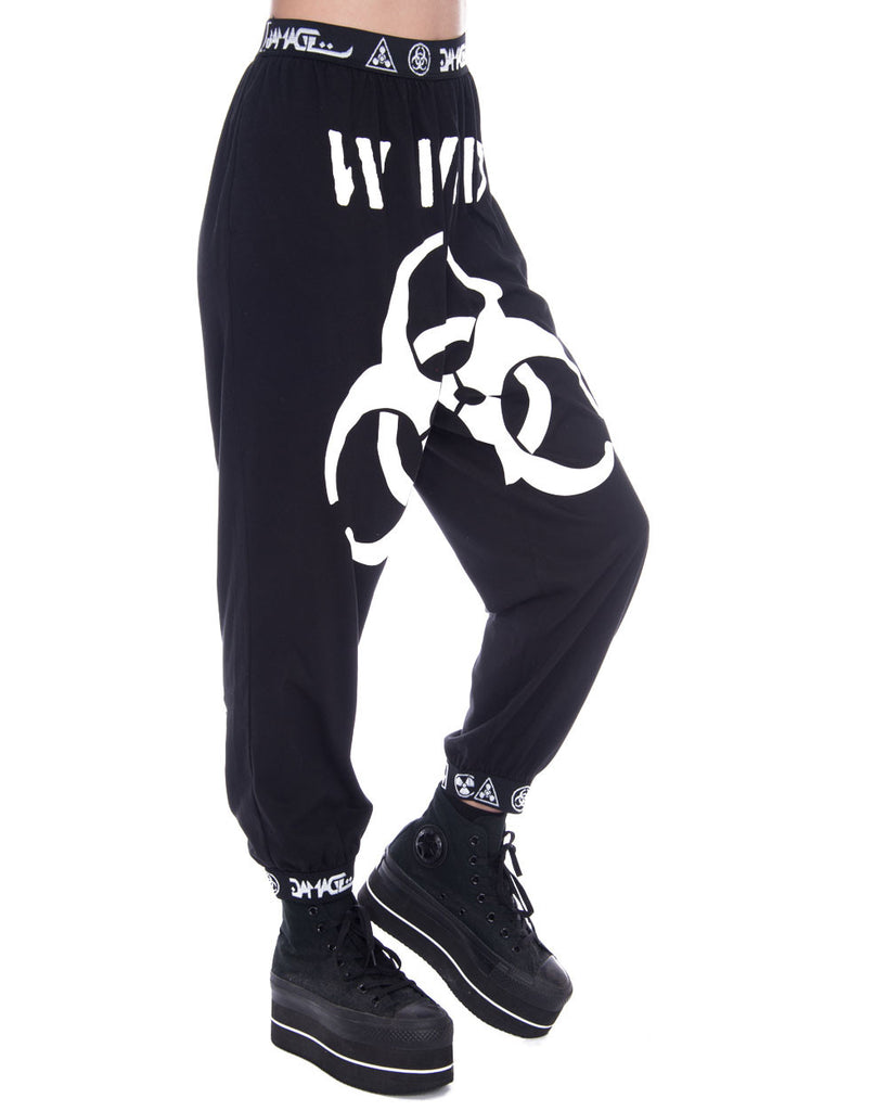 DAMAGE GROUP LOGO SWEATPANTS