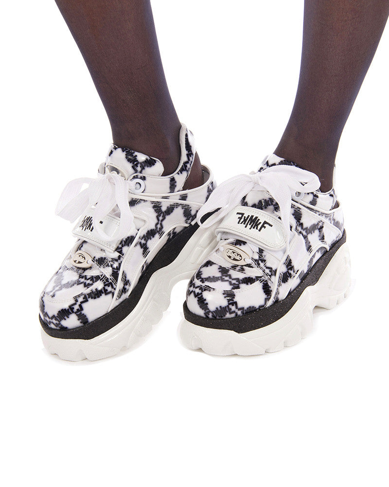 MkF X BUFFALO WHITE LOGO PLATFORMS