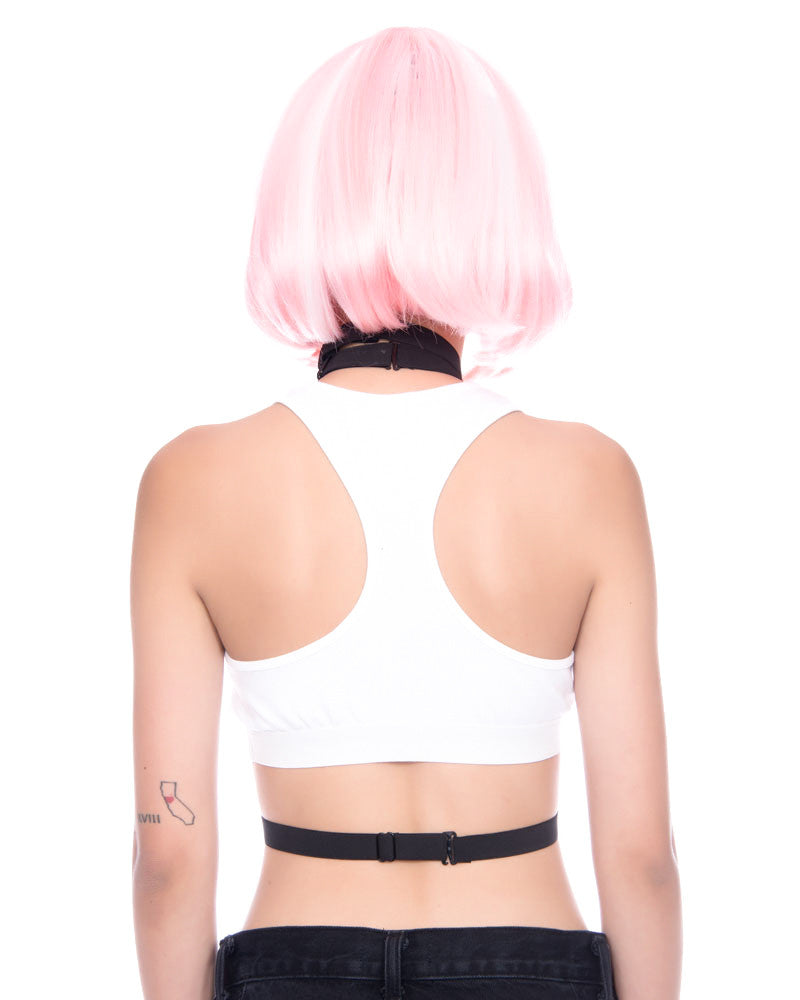 FREAK SPORTS BRA WHITE - Eros Mortis